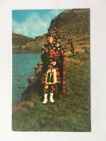 Sergeant Piper of of the King's Own, Scottish Borders - Bagpipes - Old Postcard