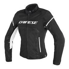 Dainese air frame d1 Lady chaqueta negro/blanco talla 38 (44l) moto señora verano