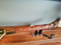 très grane pipe à opium birmanie xix eme 90 cm pas de touriste