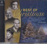 Weihnachten: Best Of Christmas - Johnny Cash, Thomaner, Hermann Prey (2 CDs,OVP)