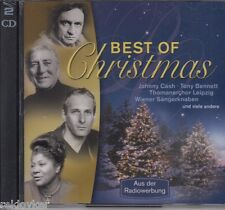 Weihnachten: Best Of Christmas - Johnny Cash, Thomaner, Hermann Prey (2 CDs,OVP)