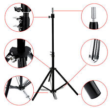 Adjustable Tripod Stand Hairdressing Training Mannequin Manikin Head Holder New