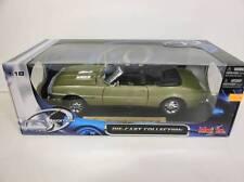 Maisto 1968 Chevrolet Camaro RS/SS 396 Green (Die-cast - 1:18 Scale)