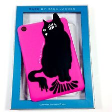 Marc Jacobs Electronic Tablet Sleeve For Ipad Mini Hot Pink With Black Cat.NWT.