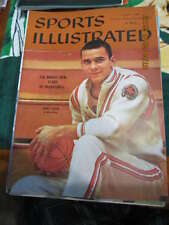 1960 1/11 Jerry Lucas Ohio state  Sports Illustrated Newsstand no label nm s1