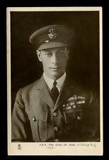 Royalty HRH Duke of York future George VI  in RAF uniform Tuck #3658 RP PPC