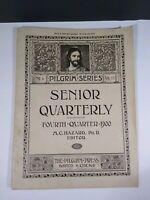 1900 Senior Quarterly Congregational Pilgrim Series Boston M.C. Hazard. Editor