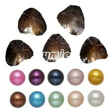 10pc Akoya Pearl Oysters With Real Pearl 7-8mm Freshwater Pearl Vacuum