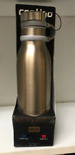Contigo Couture Insulated Stainless Steel Water Bottle Chardonnay Gold 20 Oz New