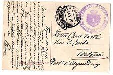 CARTOLINA 1913 PM TRIPOLITANIA 31/3 RIF 10931