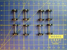 Essieux Ø 10,8 entraxe 24,4 mm LIMA, PIKO, MARKLIN, ELECTROTREN, RIVAROSSI HO