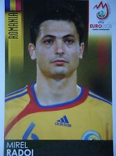 Panini 317 Mirel Radoi Rumänien UEFA Euro 2008 Austria - Switzerland