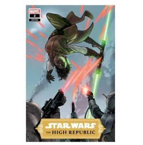 STAR WARS HIGH REPUBLIC #2 TAURIN CLARKE VARIANT NM JEDI STARLIGHT SITH YODA