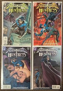 Nightwing Huntress #1,2,3,4 1998 DC Comics Complete Set Grayson Land Lot