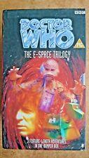 Doctor Who - E-Space Trilogy (VHS, 1997, Box Set) - Tom Baker