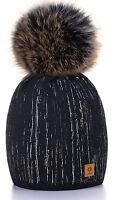 Unisexe enfants Bonnet tricot chapeaux casquette hiver ver garçon fille Bulle Z