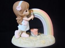 Precious Moments-You Color My Rainbow World-Very Hard To Find!!