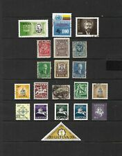 Lithuania stamp selection (Ref.1034)