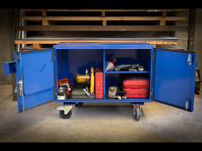 Construction Site Box and Workbench 'Size 1' OZ Made Industrial Tool Cabinet