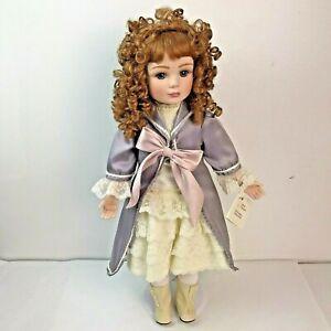 """Marie Osmond Somewhere In Time Porcelain Doll 24"""" Nicolette Lt Ed 2500"""
