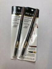 REVLON Colorstay Brow Pencil AUBURN 215 eye eyebrow waterproof