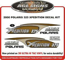 2000 POLARIS XPEDITION 325 4X4  ATV  DECAL SET, reproduction