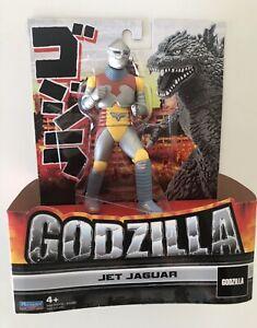 "Godzilla Playmates 6.5"" Jet Jaguar Figure 2021 Brand New"
