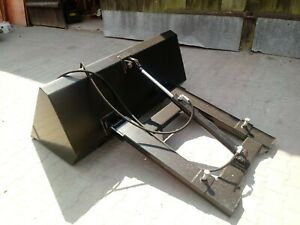 Staplerschaufel 1,5 Kippschaufel Stapler hydraulische Schaufel Gabelstapler