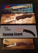 37 Piece Lot Frost Cutlery Tactical Knives ~ Aerotek, Night Hawk, Swamp Lizard.