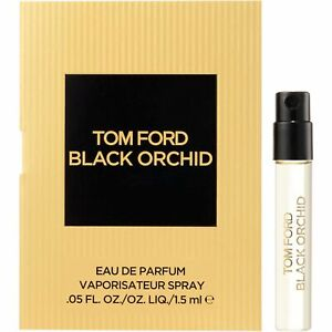 Tom Ford Black Orchid Eau de Parfum EDP 1.5ml Spray Sample Vial 100% Genuine NEW