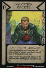 Dune CCG - Invocation of Caste  / Eye of the Storm