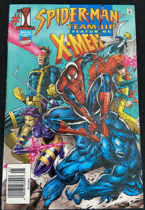 SpiderMan Team Up #1 Featuring X-Men Marvel Comics 1995 - Condition LN
