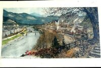 "LUIGI KASIMIR PENCIL SIGNED ETCHING TITLED ""Salzburg Naples and Constantinople.."