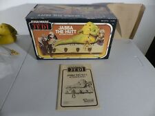 Kenner 1983 JABBA THE HUTT figure playset NEAR MINT COMPLETE STAR WARS ROTJ