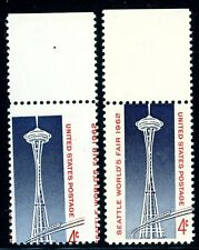 "EFO 1196 2-WAY MISPERF ALL RED LETTERING ON RIGHT ""LEANING SPACE TOWER"""