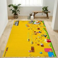 New Super Mario Bros Area Rug For Gift Living Room Rug Christmas Gift US Decor