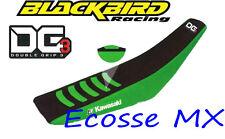 Kawasaki KXF250 KXF450 2006-2008 BLACKBIRD DG3 PINZA Funda de asiento verde /