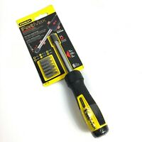 STANLEY #69-189 FatMax Ratcheting Magnetic Universal Multi-Bit Case Screwdriver