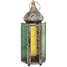 INDIAN/Marocchina Lanterna vintage effetto rame ORNATA MINARETO cupola Mehndi Regalo