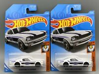 Lot Of 2 Vehicles 65 Mustang 2+2 Fastback Muscle Mania Hot Wheels