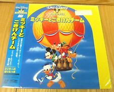 MICKEY AND THE GANG  DISNEY LASERDISC BRAND NEW & FACTORY SEALED