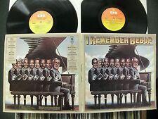 "AL HAIG+WALTER BISHOP+SADIK HAKIM & OTHERS""I REMEMBER BEBOP"".1980 CBS DOUBLE LP."
