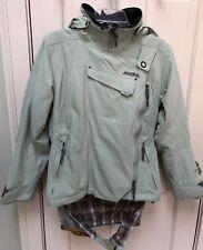 Ladies Sz M Ski/Snowboard Ladies SOLSTICE Microshed Side Zip Hooded Jacket/Coat