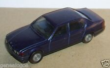 MICRO HERPA HO 1/86 1/87 BMW 735 I BLEU VIOLINE METAL