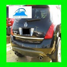 Precut Chrome Trunk Tailgate Trim Molding For Nissan Murano (2003-2007) W/Wrnty
