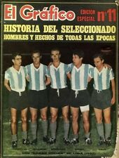 SOCCER ARGENTINA Team History Rare Book 1965