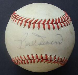 BOBBY DOERR signed Baseball Autographed HOF RED SOX COA