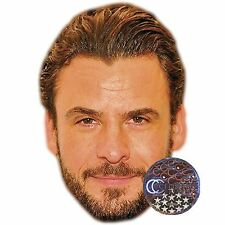 Stephan Luca Celebrity Mask, Flat Card Face