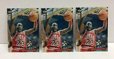 1994-95 Collector's Choice MICHAEL JORDAN Gold, Silver, Base Signature card Lot