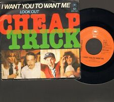 "CHEAP TRICK I Want You To Want Me SINGLE 7"" Inch 1979 Look Out"